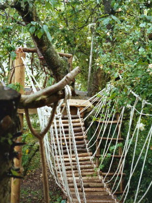 Entrance to main treehouse, Kings Langley '03